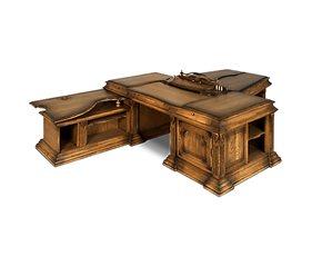 Стол рабочий с приставками Версаль