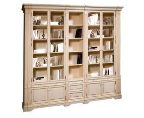 Шкаф комбинированный  5-ти дверный для библиотеки Престиж
