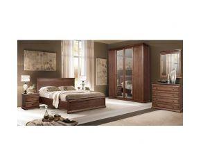 Набор Камелия (кровать,2 тумбы,шкаф,комод,зеркало)